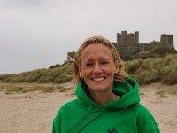 Leanne Smith on the beach