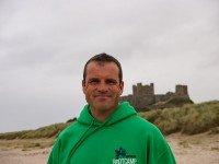 Dan Smith on the beach
