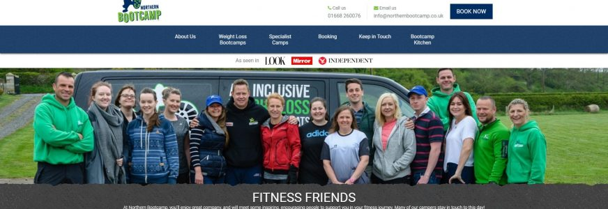 Welcome to the new Northern Bootcamp website